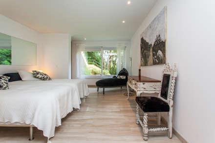 Dormitorios de estilo rústico por alma portuguesa