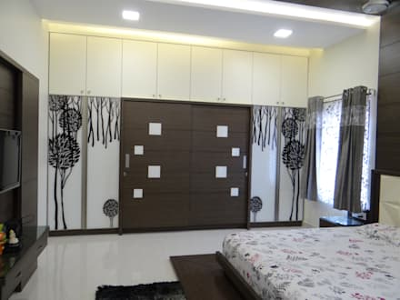 First Floor Master Bedroom Wardrobe Modern By Hasta Architects