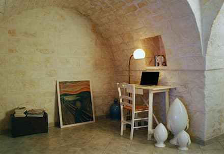 Trulli 66: Studio in stile In stile Country di ABBW angelobruno building workshop
