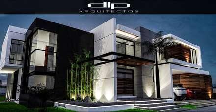 CASA FC: Casas de estilo moderno por dlp Arquitectos