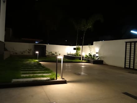 Landscape area: modern Garden by Hasta architects