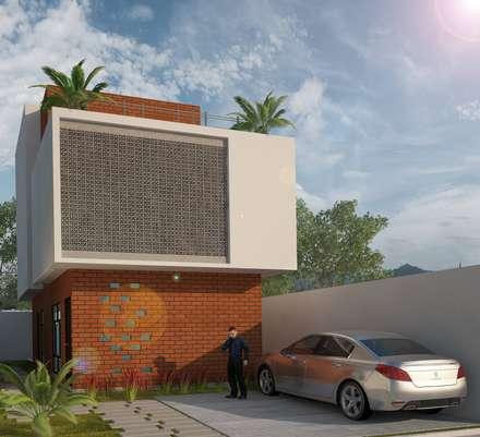 modern Houses by LOFT ESTUDIO arquitectura y diseño