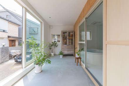 เรือนกระจก by 水石浩太建築設計室/ MIZUISHI Architect Atelier