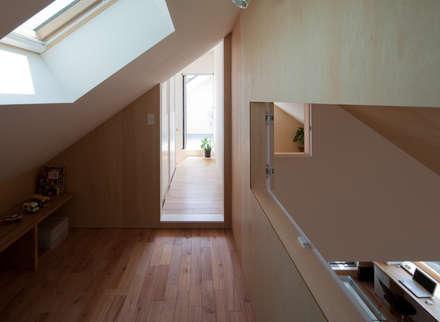 modern Garage/shed by 水石浩太建築設計室/ MIZUISHI Architect Atelier