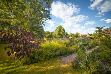 jardn en segovia jardines de estilo rural de planta paisajistas