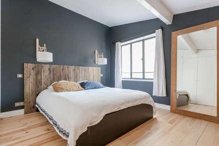 APPARTEMENT 175: Chambre de style de style Moderne par FORT & SALIER