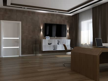 minimalistic Study/office by PUZZLE