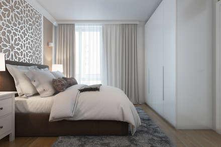 Chambre parentale: Chambre de style de style Moderne par  ElenKova architecture