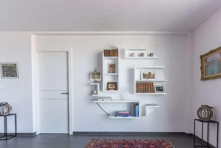 Bibliothèque Yves: Terrasse de style  par Guillaume Bouvet