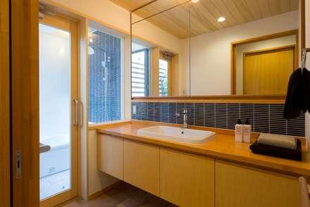 かみてつのいえ: 清建築設計室/SEI ARCHITECTが手掛けた浴室です。