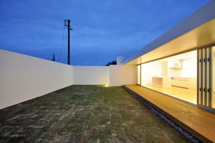 UHR-HOUSE: 門一級建築士事務所が手掛けた庭です。