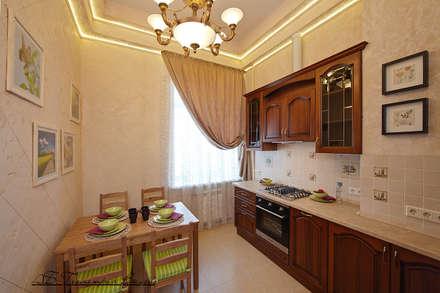 Квартира на Неве: Кухни в . Автор – Геометрия Вкуса