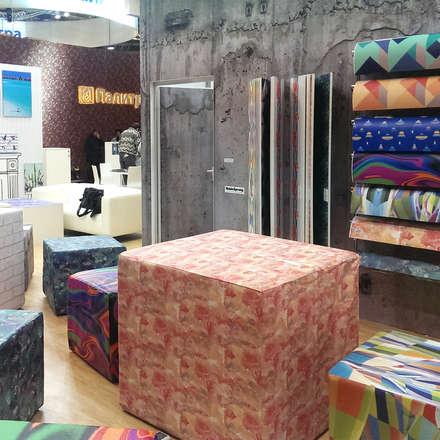 Stand Feria Mosbuild: Salones de eventos de estilo  de Agustina Barcelona