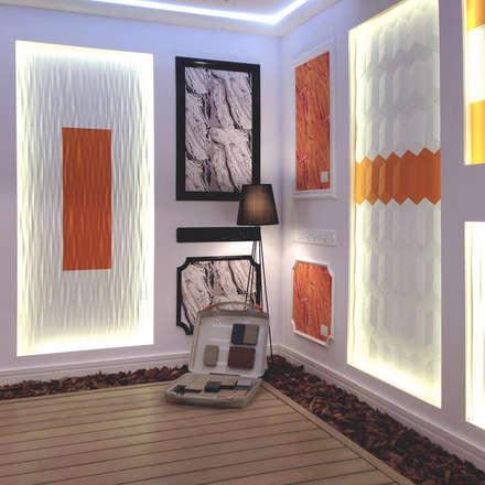 Stand NMC Feria Interihotel: Salones de eventos de estilo  de Agustina Barcelona