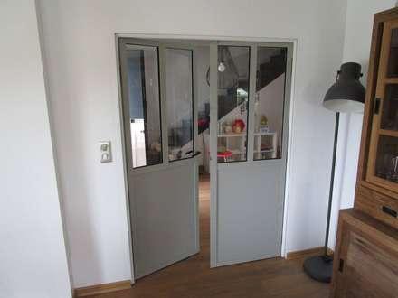 porte interieur style industriel - 28 images - porte coulissante ...