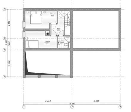 Scandinavische garage schuur idee n homify - Plan slaapkamer kleedkamer ...