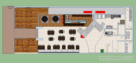อาคารสำนักงาน ร้านค้า by Estúdio 12b