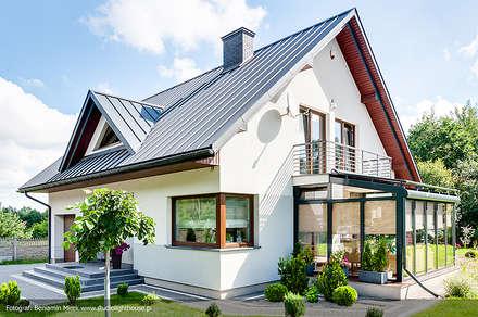 modern Conservatory by Biuro Projektów MTM Styl - domywstylu.pl