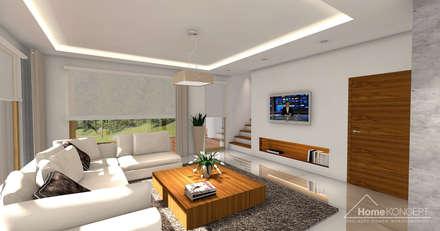 Projekt domu HomeKONCEPT-04: styl , w kategorii Jadalnia zaprojektowany przez HomeKONCEPT   Projekty Domów Nowoczesnych