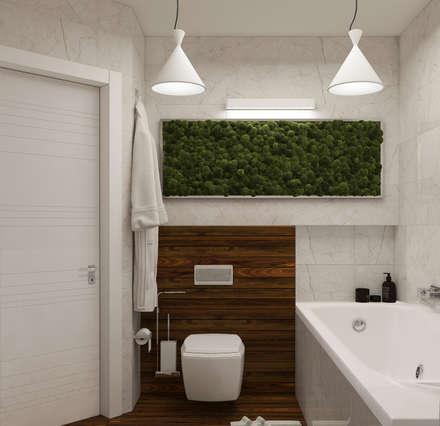 """Ванная комната """"Magnifique"""" vol.2: Ванные комнаты в . Автор – Студия дизайна Дарьи Одарюк"""
