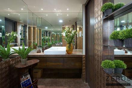 home: asian Bathroom by ZERO9