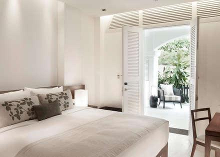 Amara Sanctuary - Larkhill Terrace:  Hotels by Deirdre Renniers Interior Design