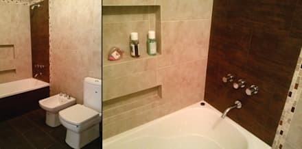 Baño: Baños de estilo clásico por MONARQ ESTUDIO