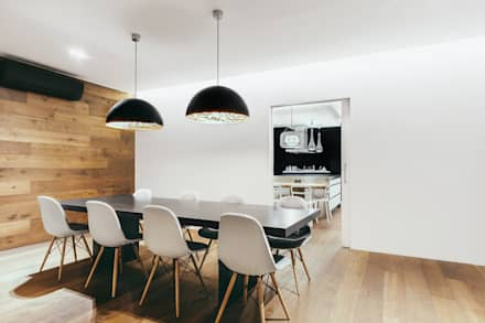 Piso en Sarrià 2: Comedores de estilo moderno de dom arquitectura