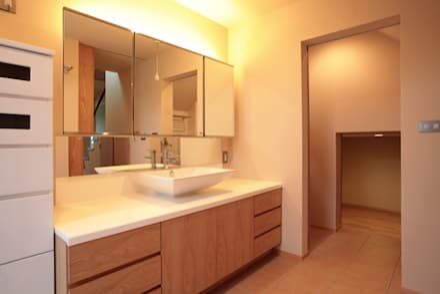 asian Bathroom by C-design吉内建築アトリエ