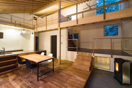 eclectic Walls & floors by 一級建築士事務所 Atelier Casa
