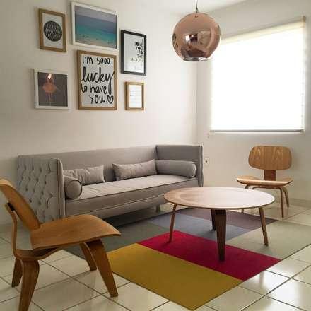 Sala: Salas de estilo moderno por DECO designers