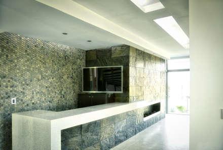 minimalistic Wine cellar by ArqCubo