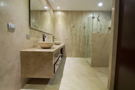 Casa CSG: Baños de estilo  por IX2 arquitectura