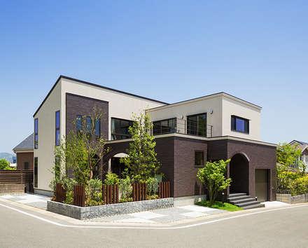 上大利の家: 株式会社 SYN空間計画 一級建築事務所が手掛けた家です。