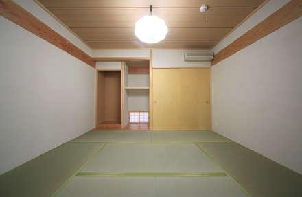 室内 ⑫: 上原一朗建築造形研究所が手掛けた寝室です。