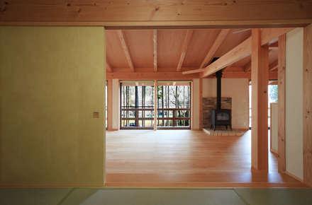 室内 ⑬: 上原一朗建築造形研究所が手掛けた寝室です。