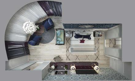 Квартира в Краснодаре - Изысканность стиля Спальня: classic Dining room by СТУДИЯ   'ДА' ДАРЬИ АРХИПОВОЙ