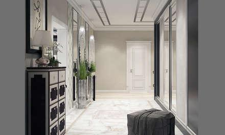 Квартира в Краснодаре - Изысканность стиля Холл: classic Bedroom by СТУДИЯ   'ДА' ДАРЬИ АРХИПОВОЙ