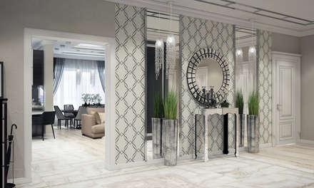 Квартира в Краснодаре - Изысканность стиля Холл: classic Bathroom by СТУДИЯ   'ДА' ДАРЬИ АРХИПОВОЙ