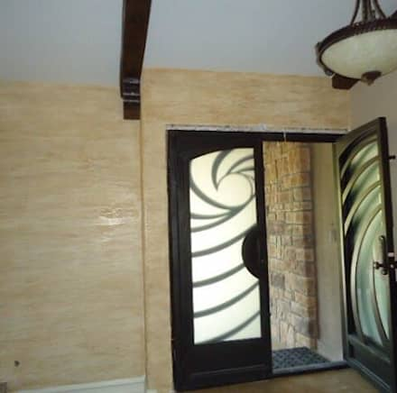 :  Walls by Meoded Paint and Plaster