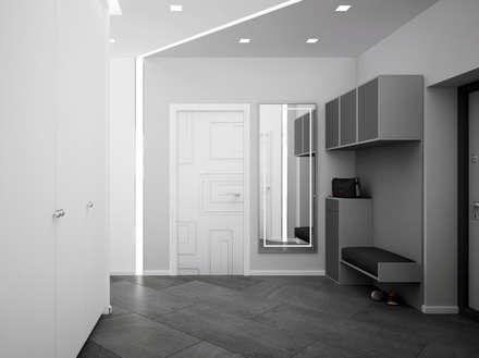 "Холл ""welcome"": modern Bathroom by СТУДИЯ   'ДА' ДАРЬИ АРХИПОВОЙ"