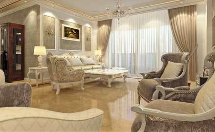 ห้องนั่งเล่น by Boly Designs