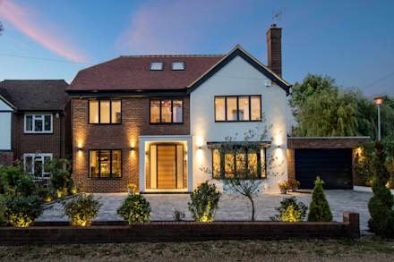 Hadley Wood - North London: modern Houses by New Images Ltd