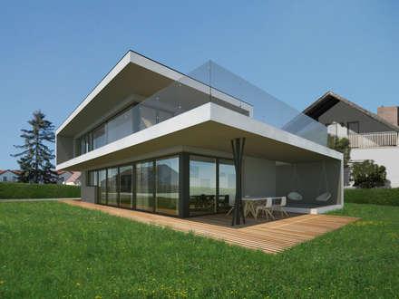 HAUS LGR: Moderner Garten Von AL ARCHITEKT