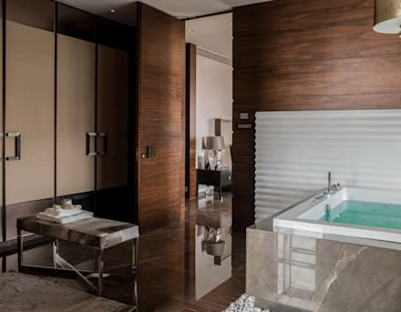 Fabien Charuau - Recent Projects: modern Bathroom by Fabien Charuau Photography