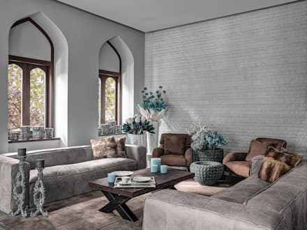 Fabien Charuau - Recent Projects: colonial Living room by Fabien Charuau Photography