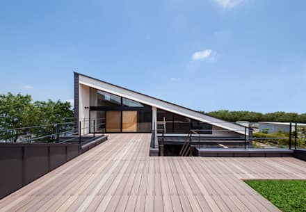 Terrace: STaD(株式会社鈴木貴博建築設計事務所)が手掛けたベランダです。