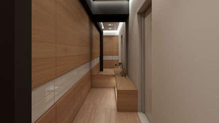 APARTAMENTO JS: Closets de estilo moderno por NOGARQ C.A.