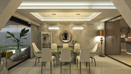 Villa Arellano: Comedores de estilo moderno por NOGARQ C.A.