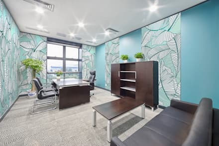 Tropical Office: tropical Study/office by Pixers